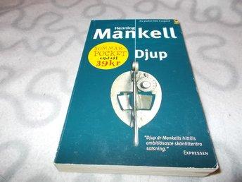 DEFEKT POCKET Henning Mankell - Djup - Bohus - DEFEKT POCKET Henning Mankell - Djup - Bohus