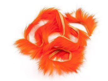 Rabbit Zonker Strips - Orange