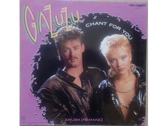 "Gazuzu title *Chant For You / Aruba (Remake)* Disco 12"" Netherlands"