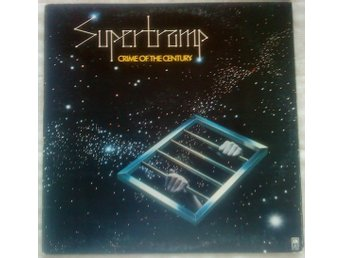 SUPERTRAMP Crime of the Century, LP vinyl 1974