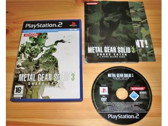 PS2: Metal Gear Solid 3 Snake Eater