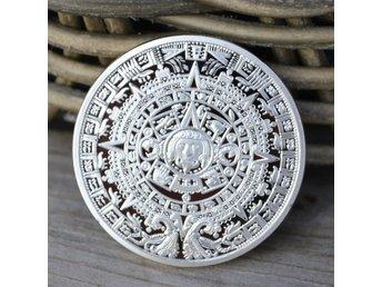Aztec Mayan 2012 Kalender Mynt USA Silver Ny - Vännäs - Aztec Mayan 2012 Kalender Mynt USA Silver Ny - Vännäs