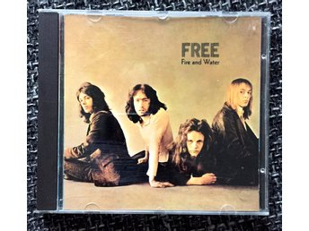 FREE - Fire And Water CD Germany rock 1970 Island Records - Stockholm - FREE - Fire And Water CD Germany rock 1970 Island Records - Stockholm