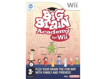 Wii - Big Brain Academy (Beg)