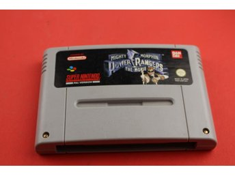POWER RANGERS THE MOVIE till Super Nintendo SNES