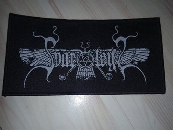 Svartsyn patch-Officiell-Black Metal,Sorhin,watain,marduk-RARE