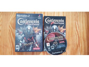Castlevania Curse of Darkness PS2 Playstation 2 Komplett Nyskick