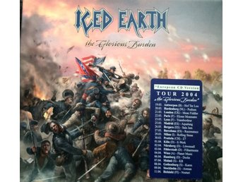 ICED EARTH THE GLORIOUS BURDEN DUBBEL-CD  I TOPPSKICK!