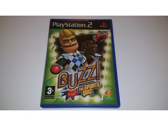 - Buzz!: The Sports Quiz PAL PS2 -