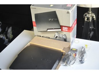 320GB Basenhet, Konsol Playstation 3 (i box, PS3)