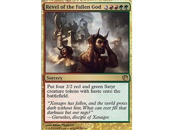 Magic the Gathering - Journey into Nyx - Revel of the Fallen God - FOIL