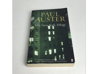 Faber, Bok, Strl: 12x19cm, Paul Auster - The New York Trilogy, Grön