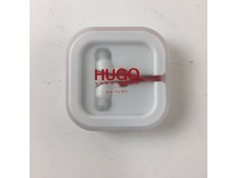 Hugo Boss, Hörlurar, In-ear, Vit/Röd, 3.5 mm