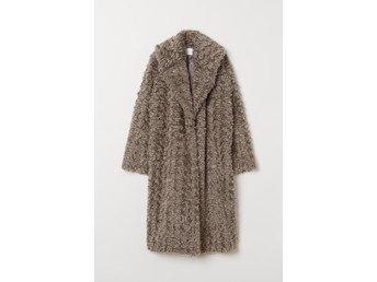 rabatt bästsäljare ny lista NY HM Trend fuskpäls kappa jacka strl 38 (367188672) ᐈ Köp på Tradera