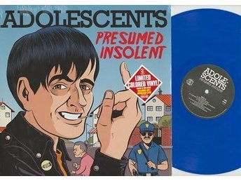 Adolescents - Presumed Insolent (blue vinyl) - LP NY - FRI FRAKT