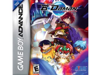 Battle B-Daman Fire Spirits - Gameboy Advance