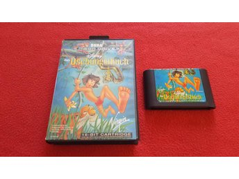 JUNGLE BOOK till Sega Megadrive