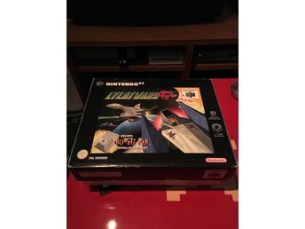 Lylat Wars - N64 komplett svensk BIG BOX