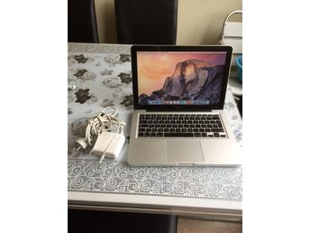 "MacBook Pro A1278 Core i5 2.4GHz+ 500GB+ 4GB +laddare 13.3""Late 2011"