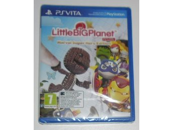 PlayStation VITA: Little Big Planet Marvel Super Hero NYTT