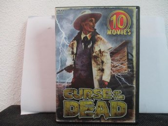 CURSE OF THE DEAD - 10 MOVIES, 5-DVD REG. 1, EJ SV TEXT