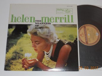 HELEN MERRILL - The nearness of you (1958), LP Emarcy Japan reissue
