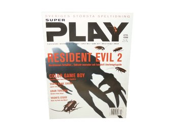 Super Play April 1998 Resident Evil 2