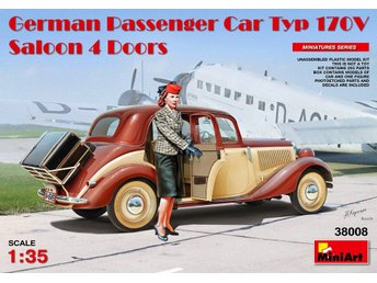 Miniart 1/35 German Passenger Car Type 170V 4 Door