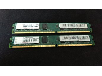 DDR2 Transcend 2x2GB PC6400/800 LOW PROFILE