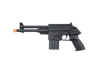 Javascript är inaktiverat. - Arboga - Ute efter en liten och kompakt bössa? Då kanske M301F från UK Arms är något för dig!Mycket bössa i litet format till litet pris! Kul fjäderdriven instegsmodell för enklare spel hemma!Ladda, sikta och skjut!Tänk på att använda skyddsgl - Arboga
