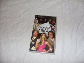 World Poker Tour Sony PSP kort gambling spel casino Texas USA sport