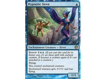 Magic the Gathering - Journey into Nyx - Hypnotic Siren - FOIL