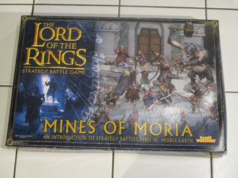 MINES OF MORIA - THE LORD OF THE RINGS - strategy battle game - games workshop