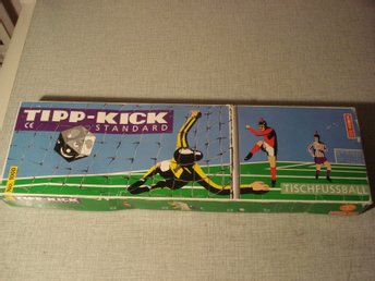 Fotboll  Tipp Kick spel komplett made in Germany  samlarsak