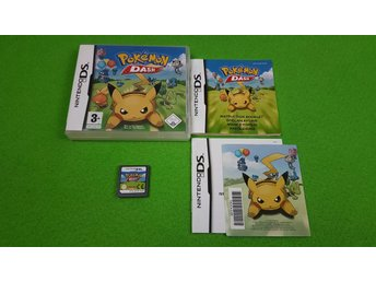 Pokemon Dash KOMPLETT Nintendo DS
