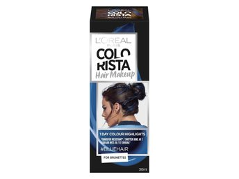 LOREAL PARIS COLORISTA HAIR MAKEUP Blue 19
