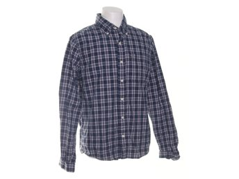 Abercrombie & Fitch, Buttondown-skjorta, Strl: XL, Mörkblå/Rosa