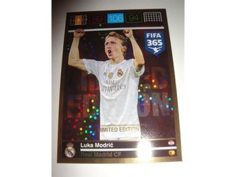 Panini Adrenalyn XL FIFA 365 - Limited Edition - LUCA MODRIC - Real Madrid