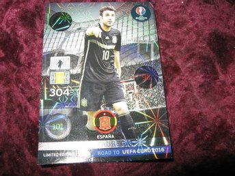 CESC FABREGAS-SPANIEN-LIMITED EDITION-ROAD TO UEFA EURO 2016