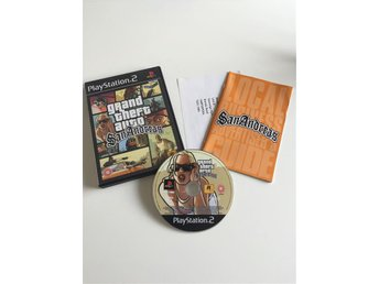 Playstation 2 Grand Theft Auto San Andreas
