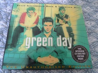 GREEN DAY / Fully Illustrated Book & Interview Disc / OBS Ingen musik
