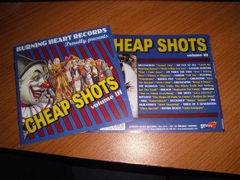 V/A - Cheap Shots vol 3 CD (Millencolin , Refused , Nine , Satanic Surfers)