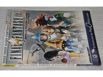 PlayStation 1/PS1: Final Fantasy IX 9 Official Guide