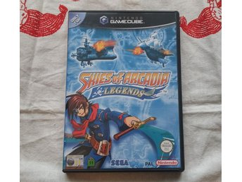 Skies of Arcadia Legends - Nintendo Gamecube, PAL Svensksålt