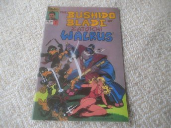 The Bushido Blade of Zatoichi Walrus #1, 1986