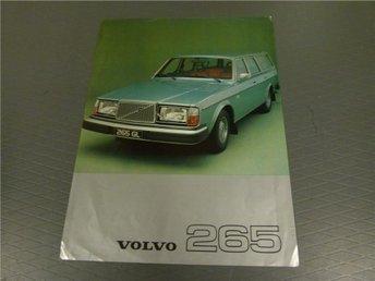 Volvo broschyr: Volvo 265 - 1977 (Australien) - Norrtälje - Volvo broschyr: Volvo 265 - 1977 (Australien) - Norrtälje
