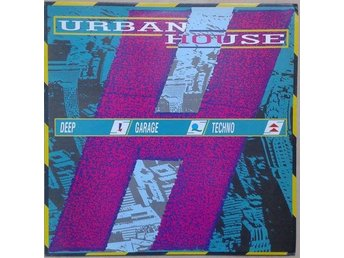 Various title* Urban House* Acid House, Techno, House LP Comp. UK