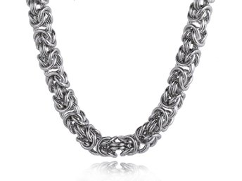 halskedja kirurgiskt stål