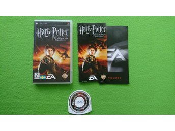 Harry Potter och den Flammande Bägaren SVENSK UTGÅVA Psp Playstation Portable