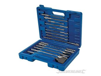 SDS Plus SDS Plus Masonry Drill & Steel Chisel Set 15pce 196570